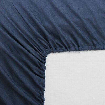 Fitted Sheet Deep Pocket Brushed Velvety Microfiber Breathable Queen King Size
