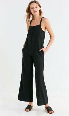291b1ffc4da9 NWOT URBAN OUTFITTERS UO EVE BUTTON-DOWN OVERALL JUMPSUIT sz XS ...