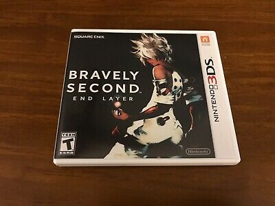 Bravely Second : End Layer (Nintendo 3DS, 2016) CiB Authentic