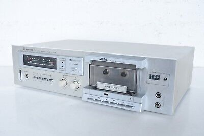 Sherwood S-100CP Stereo Cassette Deck. As Is/Parts/Repair Only
