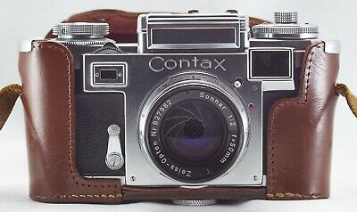 Zeiss Ikon Contax IIIa and Zeiss Opton Sonnar 1:2 f=50mm