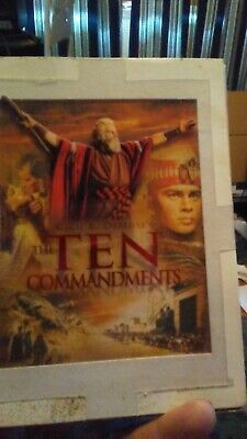 the ten commandments dvd 3 discs