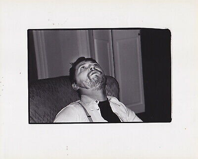 SYLVIA PLACHY: RAINER WERNER FASSBINDER *STAMPED Rare 1970s Iconic VINTAGE photo
