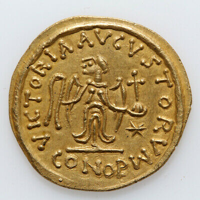 Byzantine Coin Gold Tremisis Phocas 602-618 Ad-Barbarous ?