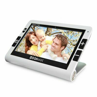 Zoomax Snow 7 HD Color Portable Video Magnifier 4Hr Battery Visual Aid EM-RV7V