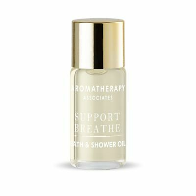 Aromatherapy Associates support breathe bath and shower oil travel size 3ml NEW