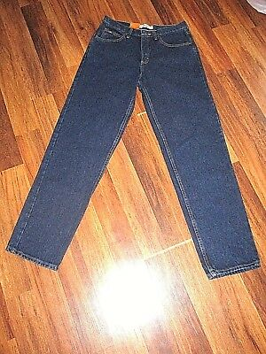 Mens NWT Lee Relaxed Fit Straight Leg Denim Blue Jeans Size 30 x 32-NICE!