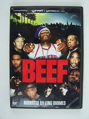 Beef DVD Ving Rhames, 50 Cent, Kevin Anderson, B-Real, Big Daddy Kane