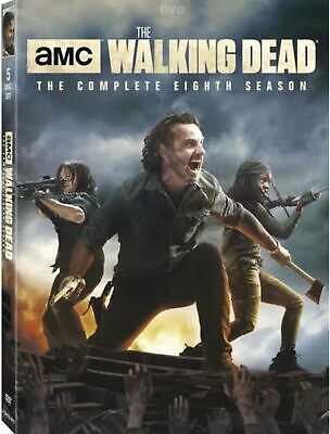 The Walking Dead: The Complete Eighth Season 8 (DVD, 2018 5-Disc Set) FREE Ship!