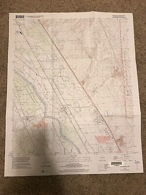 San Miguel NM USGS Topographic Map Topo 7.5 Minute New Mexico Doña Ana Mesquite