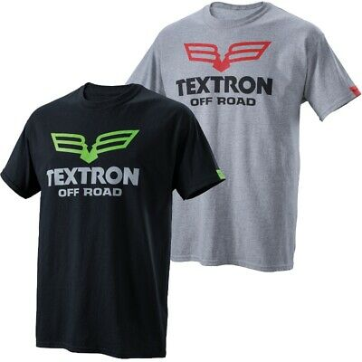 Textron Off Road Men's Domain Short Sleeve Relaxed Fit T-Shirt - Black or Gray