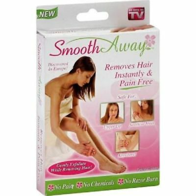 Smooth Away Original Hair Remover Kit Removes Hair Instantly & Exfoliates