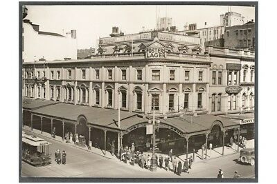 MELBOURNE Royal Mail Hotel Bourke & Swanston 1920s modern Digital Postcard