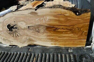 15-J76  Figured California Olive Wood Sab Turning Wood Lumber Board