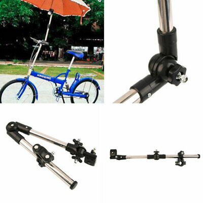 AU Umbrella Clamp Supporter Attachment Connector Holder Pipe Bar Wheelchair Part