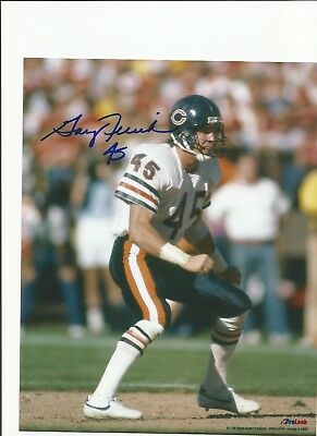 the latest 1f1d0 4b1ad SIGNED 8X10 GARY Fencik Chicago Bears Autographed photo - w/COA