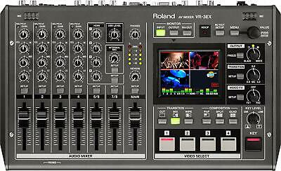 Roland VR-3EX 4-Channel SD Performance Audio Video A/V Mixer