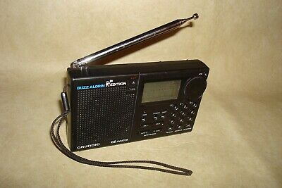 Grundig G6 Aviator Buzz Aldrin Edition FM Stereo AM AIR SW DUAL  Radio Receiver