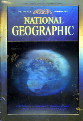 NATIONAL GEOGRAPHIC MAGAZINE Volume 174 #6 December 1988 *Ships Free w/$35 Combo