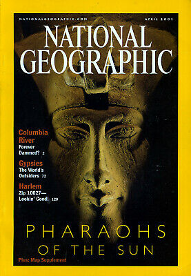 NATIONAL GEOGRAPHIC MAGAZINE Volume 199 #4 April 2001 *Ships Free w/$35 Combo