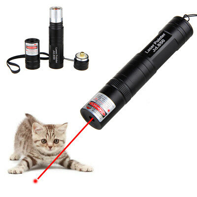 10 Miles 635nm Red Laser Pointer Pen Cat Toy Teach Presenter Visible Beam+16430