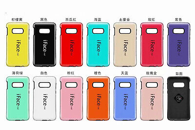 10pcs/lot Korea Style Iface PC+TPU Shockproof Case for Samsung Galaxy S10+ S10e