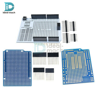 Prototype PCB for Arduino UNO R3 Shield Board DIY FR-4 Fiber 2mm +2.54mm Pitch