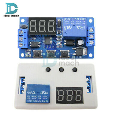 Automation 12V LED Home Delay Timer Control Switch Relay Module with Case or not