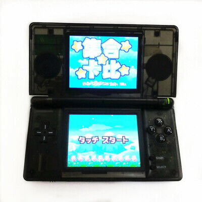 Clear Black Refurbished Nintendo DS Lite Game Console NDSL Video Game System