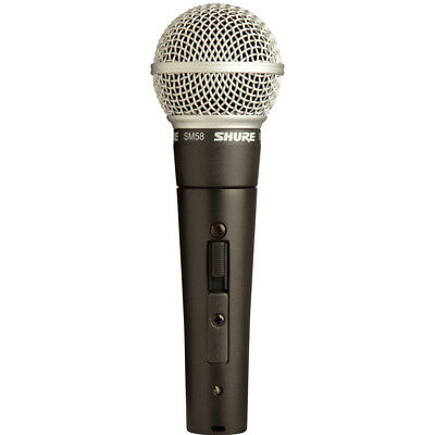 Brand  new Shure SM58S Dynamic Vocal Microphone with On/Off Switch