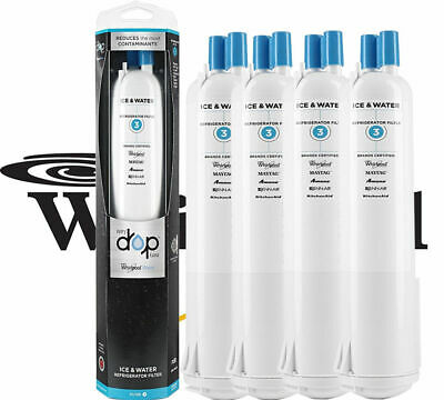 1/2/3/4PACK NO.EDR3RXD1 NO.4396841 NO.4396710 Every Drop 3 Fridge Water Filter