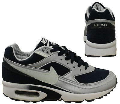 Nike Air Max Classic BW 2003 Rare Vintage Kids Navy Low Trainers 609035 411 M20