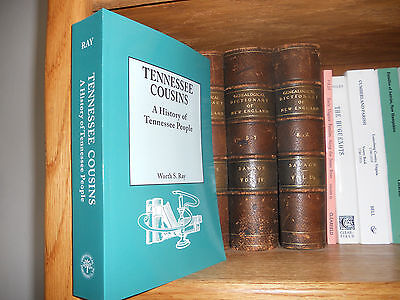 Tennessee Cousins Genealogy Book All Counties