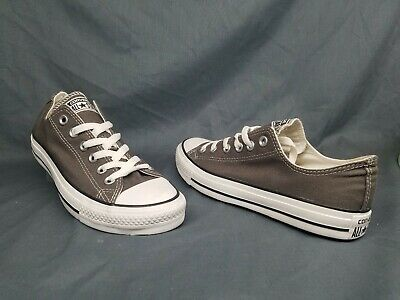 68a9264af05 Converse Men's Chuck Taylor All Stars Ox Sneakers Charcoal Size 8 FLOOR  MODEL!