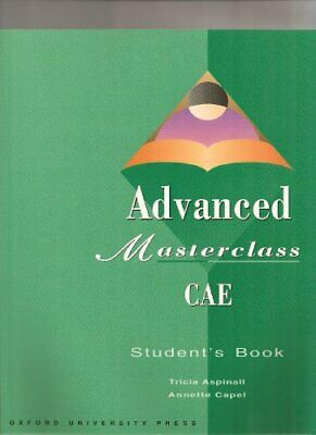 Advanced Masterclass CAE (French Edition) By Patricia Aspinall, Annette Capel,