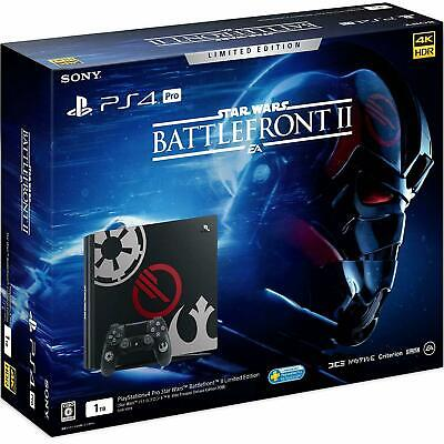 SONY Play station 4 Pro Star Wars Battlefront II Limited Edition 1TB