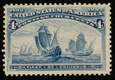 Scott#233 4c Columbian 1893 Mint NH OG Never Hinged