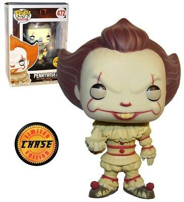 Funko Pop Pennywise (With Boat) #472 It Chase Limited Edition