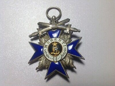 WWI  German Bavarian Merit Cross Badge - Guaranteed original! and nice!