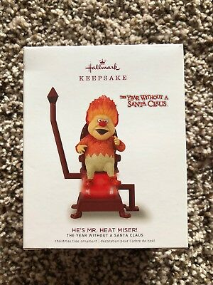 2018 Hallmark Keepsake Ornament HE'S MR. HEAT MISER NIB