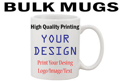 Personalised Custom Photo Mug Cup Image Text Wholesale Bulk Promotional Business
