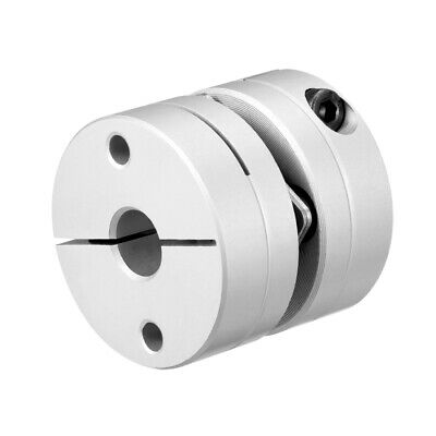 8mm to 15mm Bore 1-2 Diaphragm Motor Wheel Flexible Coupling Joint 32-49mm Long