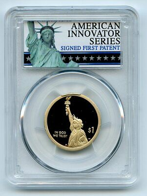 2018 S $1 American Innovation Dollar PCGS PR69DCAM First Strike Exclusive Label