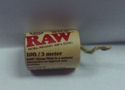 Raw Rolling Paper Hemp Wick Roll 10 Ft Made From Natural Hemp And Beeswax
