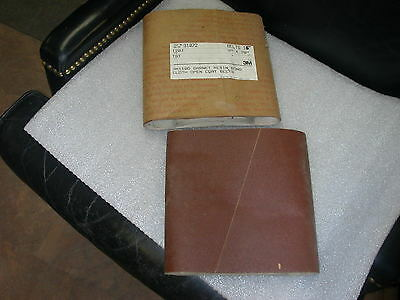 "3M 110D Sanding Belt Drum Sleeve 9"" X 20"" 120 Grit Garnet Cloth Pack Of 15"