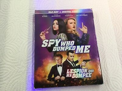 The Spy Who Dumped Me    ( Blu-Ray +  Digital Copy ) Brand New Sealed