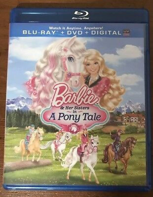 Barbie & Her Sisters in A Pony Tale DVD And Blu-ray