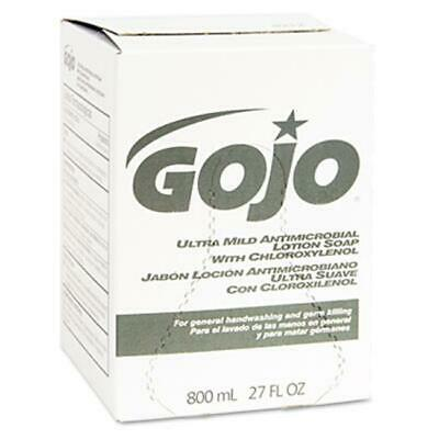 Gojo 921212EA Ultra Mild Lotion Soap with Chloroxylenol Refill Unscented 800-ml