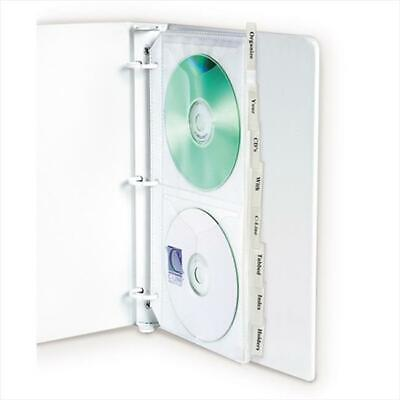 C-Line Products 61918BNDL3PK Deluxe CD Ring Binder Storage Standard with Inde...