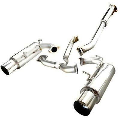Spec-D Tuning MFCAT2-FRS12 Catback Exhaust System Dual Tip for 12 Scion FRS 1...
